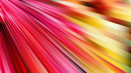 Pink and Yellow Diagonal Lines Background