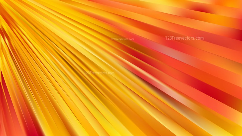 Abstract Red and Yellow Diagonal Lines Background