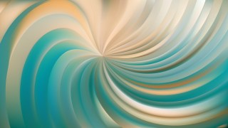 Abstract Beige and Turquoise Swirl Background Illustration