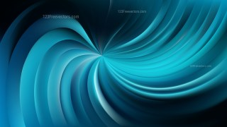Abstract Black and Blue Swirl Background Image