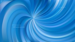 Abstract Blue Swirl Background Vector Illustration