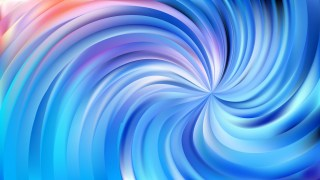 Abstract Blue Swirl Background