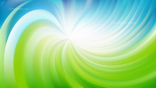 Abstract Blue and Green Swirl Background Illustration