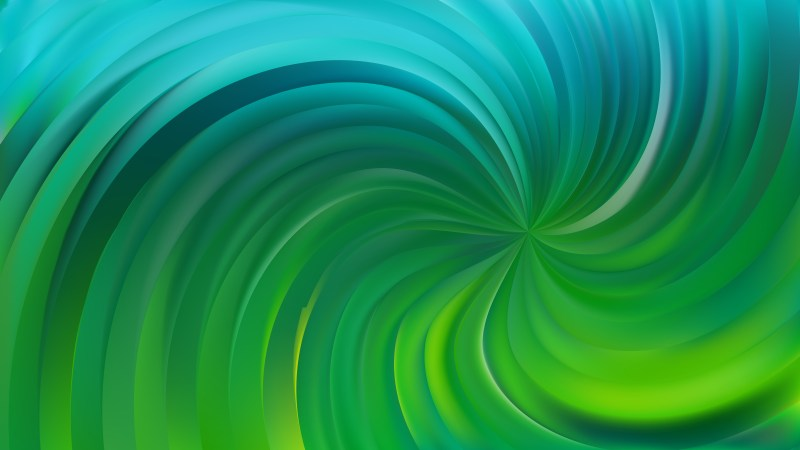 Abstract Blue and Green Swirl Background