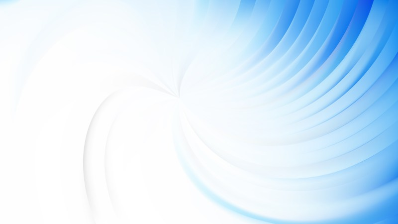 Abstract Blue and White Swirl Background Image