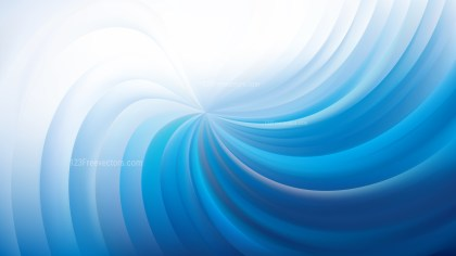 Abstract Blue and White Swirl Background