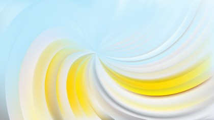 Abstract Blue and Yellow Swirl Background