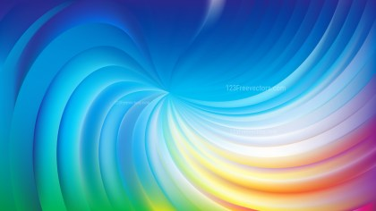 Abstract Colorful Swirl Background Image
