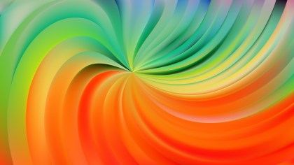 Abstract Colorful Swirl Background Vector Illustration