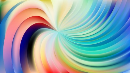 Abstract Colorful Swirl Background