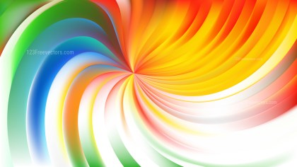 Abstract Colorful Swirl Background Illustration