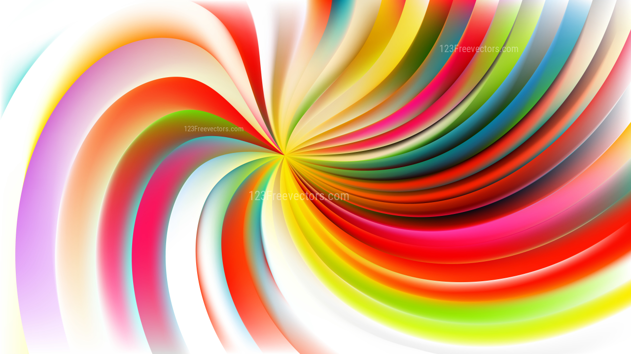 abstract colorful swirl background design