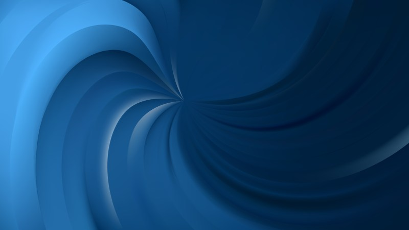 Abstract Dark Blue Swirl Background