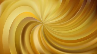 Abstract Gold Swirl Background