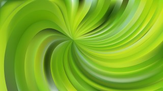 Abstract Green Swirl Background Illustration