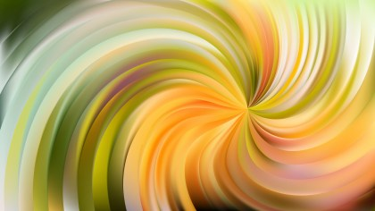 Abstract Green and Yellow Swirl Background