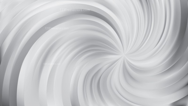 Abstract Grey Swirl Background Vector Art