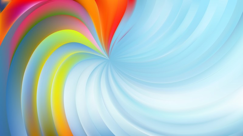 Abstract Light Color Swirl Background Image