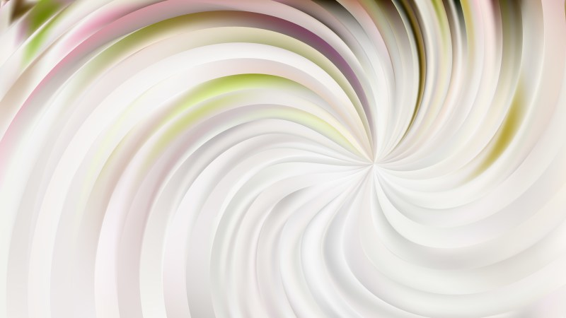 Abstract Light Color Swirl Background Vector Image
