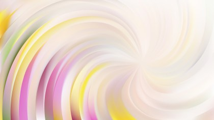 Abstract Light Color Swirl Background