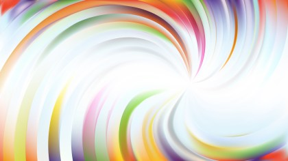 Abstract Light Color Swirl Background Illustration