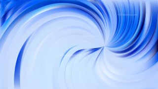 Abstract Light Blue Swirl Background
