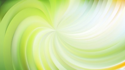 Abstract Light Green Swirl Background Vector Illustration
