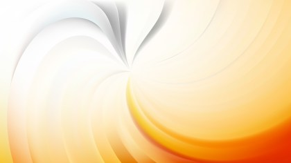 Abstract Light Orange Swirl Background