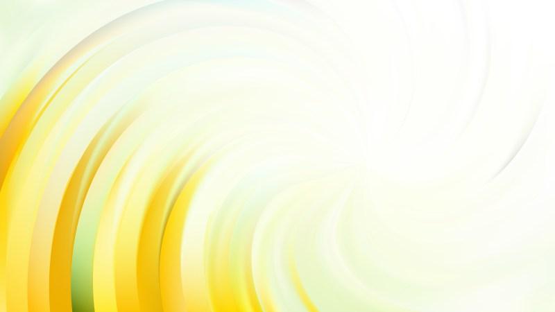 Abstract Light Yellow Swirl Background Illustration