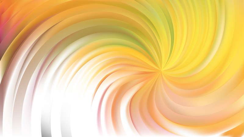 Abstract Light Yellow Swirl Background