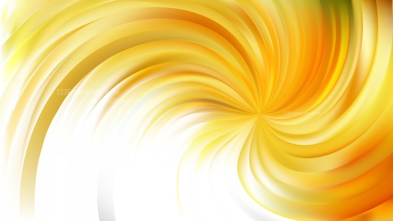 Abstract Light Yellow Swirl Background Image