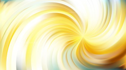 Abstract Light Yellow Swirl Background