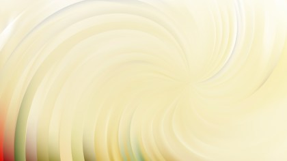 Abstract Light Yellow Swirl Background Vector Image