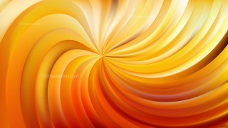 Abstract Orange Swirl Background