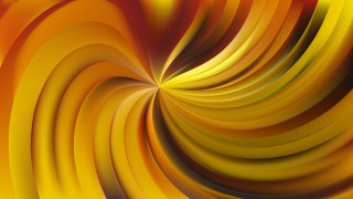 Abstract Orange Swirl Background Image