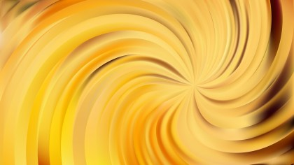 Abstract Orange Swirl Background Illustration