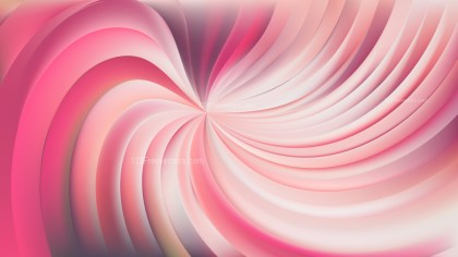 Abstract Pink Swirl Background Vector Illustration