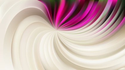 Abstract Pink and Beige Swirl Background Illustration