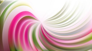 Abstract Pink and Green Swirl Background Illustration