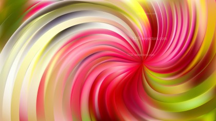 Abstract Pink and Green Swirl Background Vector Image