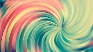 Abstract Pink and Green Swirl Background
