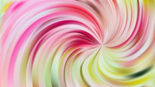 Abstract Pink and Green Swirl Background Vector Illustration