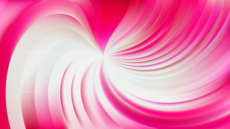 Abstract Pink and White Swirl Background Vector Art
