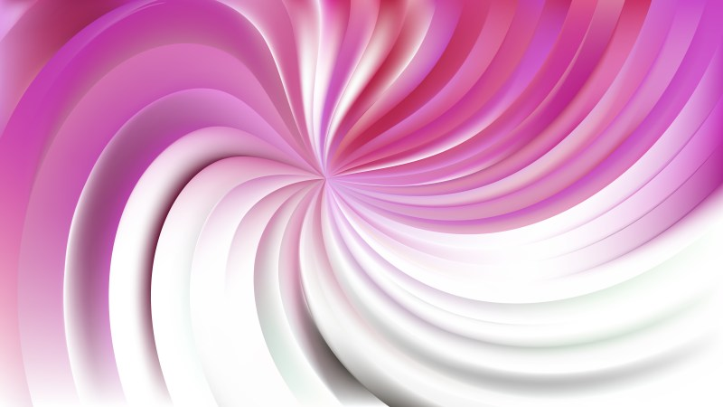Abstract Pink and White Swirl Background Illustration