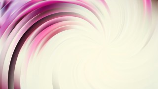 Abstract Pink and White Swirl Background