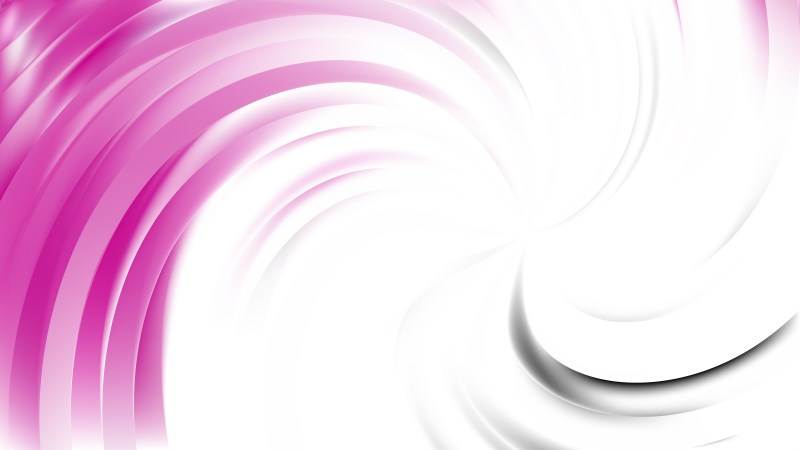Abstract Pink and White Swirl Background Vector Image