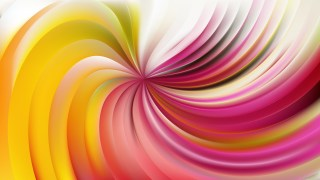 Abstract Pink and Yellow Swirl Background