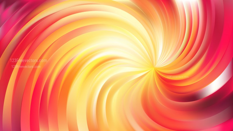 Abstract Pink and Yellow Swirl Background Image