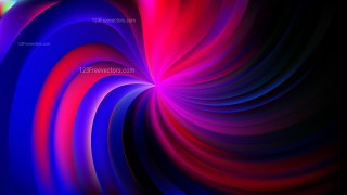 Abstract Purple and Black Swirl Background Vector Art