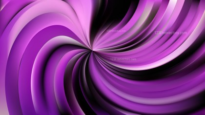 Abstract Purple and Black Swirl Background